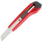 得力2041美工刀大号不锈钢壁纸刀手工裁纸刀片耐用电工刀美术刀